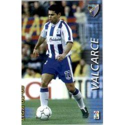 Valcarce Málaga 170 Megafichas 2002-03