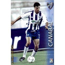 Canabal Málaga 178 Megafichas 2002-03