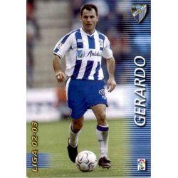 Gerardo Málaga 175 Megafichas 2002-03
