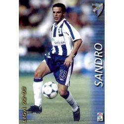 Sandro Málaga 174 Megafichas 2002-03