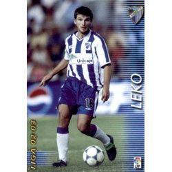 Leko Málaga 173 Megafichas 2002-03