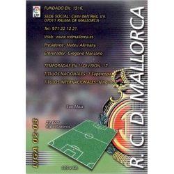 Indice Mallorca 181 Megafichas 2002-03