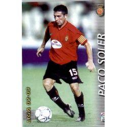 Paco Soler Mallorca 191 Megafichas 2002-03