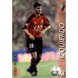 Izquierdo Osasuna 201 Megafichas 2002-03