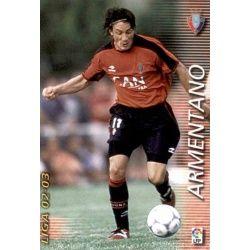 Armentano Osasuna 214 Megafichas 2002-03