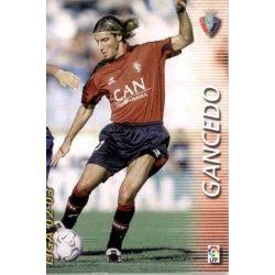 Gancedo Osasuna 212 Megafichas 2002-03