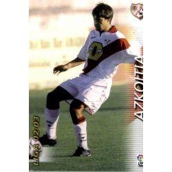 Azkoitia Rayo Vallecano 248 Megafichas 2002-03