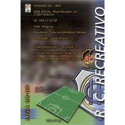 Indice Recreativo 253 Megafichas 2002-03