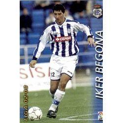 Iker Begoña Recreativo 257 Megafichas 2002-03