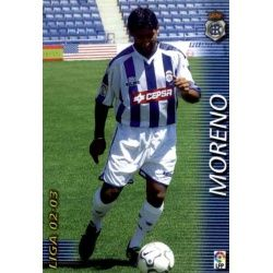 Moreno Recreativo 263 Megafichas 2002-03