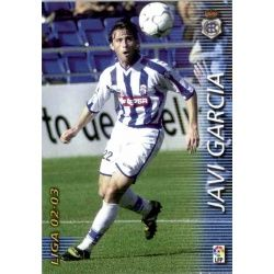 Javi Garcia Recreativo 266 Megafichas 2002-03