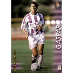 Gaspar Valladolid 328 Megafichas 2002-03