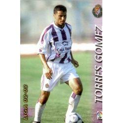 Torres Gomez Valladolid 327 Megafichas 2002-03