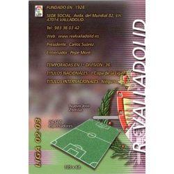 Indice Valladolid 325 Megafichas 2002-03