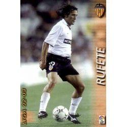 Rufete Valencia 317 Megafichas 2002-03