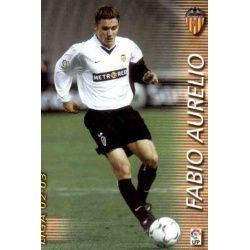 Fabio Aurelio Valencia 313 Megafichas 2002-03