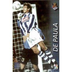 De Paula Real Sociedad 305 Megafichas 2002-03