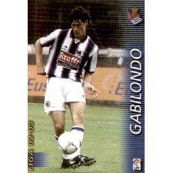 Gabilondo Real Sociedad 302 Megafichas 2002-03