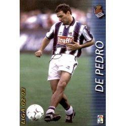 De Pedro Real Sociedad 301 Megafichas 2002-03