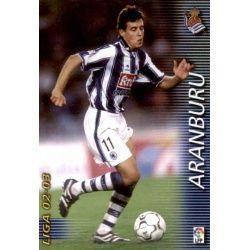 Aranburu Real Sociedad 300 Megafichas 2002-03
