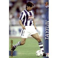 Tayfun Real Sociedad 299 Megafichas 2002-03
