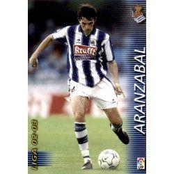 Aranzabal Real Sociedad 296 Megafichas 2002-03