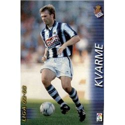 Kvarme Real Sociedad 295 Megafichas 2002-03