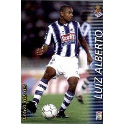 Luiz Alberto Real Sociedad 293 Megafichas 2002-03