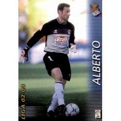 Alberto Real Sociedad 291 Megafichas 2002-03