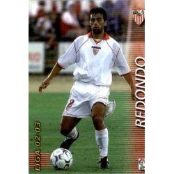 Redondo Sevilla 273 Megafichas 2002-03