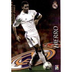 Hierro Megacracks Real Madrid 367 Megafichas 2002-03