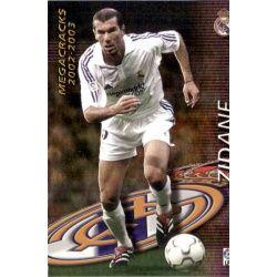 Zidane Megacracks Real Madrid 376 Megafichas 2002-03