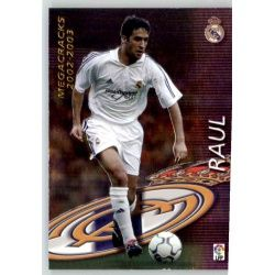 Raul Megacracks Real Madrid 380 Megafichas 2002-03