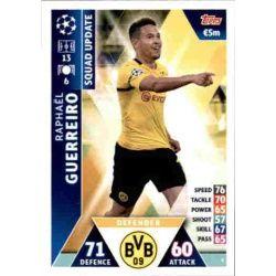 Raphaël Guerreiro Borussia Dortmund UP3 Match Attax Champions 2018-19
