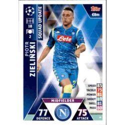 Piotr Zieliński Nápoles UP18 Match Attax Champions 2018-19