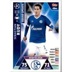 Sebastian Rudy Schalke 04 UP19 Match Attax Champions 2018-19