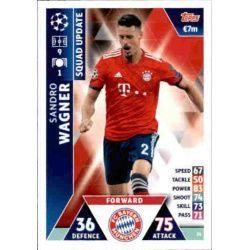Sandro Wagner Bayern Munich UP24 Match Attax Champions 2018-19
