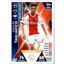 Nicolás Tagliafico Ajax UP25 Match Attax Champions 2018-19