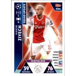 Hakim Ziyech Ajax UP26 Match Attax Champions 2018-19