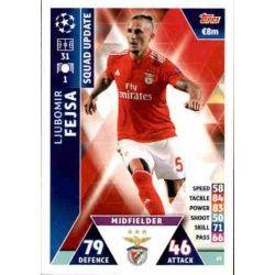 Ljubomir Fejsa Benfica UP29 Match Attax Champions 2018-19