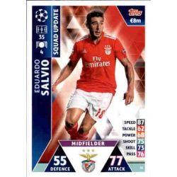 Eduardo Salvio Benfica UP31 Match Attax Champions 2018-19