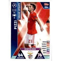 Pizzi Benfica UP32 Match Attax Champions 2018-19