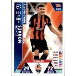 Júnior Moraes Shakhtar Donesk UP41 Match Attax Champions 2018-19