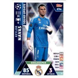 Keylor Navas Real Madrid UP42 Match Attax Champions 2018-19
