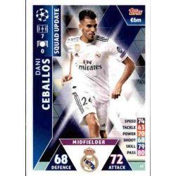 Dani Ceballos Real Madrid UP43 Match Attax Champions 2018-19