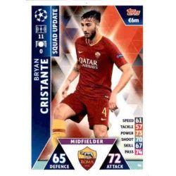 Bryan Cristante Roma UP46 Match Attax Champions 2018-19