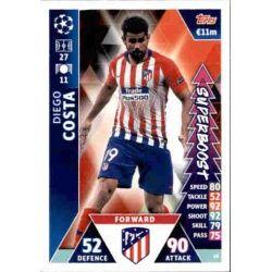 Diego Costa Super Boost UP65 Match Attax Champions 2018-19