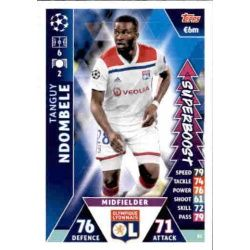 Tanguy Ndombele Super Boost UP83 Match Attax Champions 2018-19