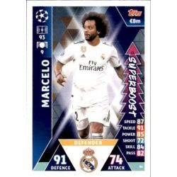 Marcelo Super Boost UP86 Match Attax Champions 2018-19
