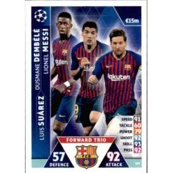 Messi - Suárez - Dembélé UCL Trio UP109